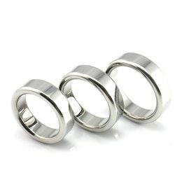 Wholesale Stainless Cock Rings - 26mm 28mm 30mm 3 sizes diameter,5mm thickness stainless steel metal penis ring cock ring adult sex toys for men
