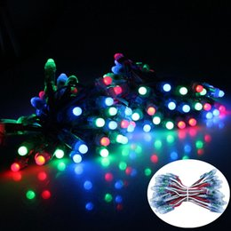 best led rgb full color - 2000PCS Led Lighting Module Cordas De Luzes Decorativas Waterproof Full Color RGB 12mm WS2811 DC 5V Led Pixel Modules