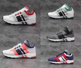 Wholesale Cheap Priced Canvas Shoes - Mens EQT Support 93 A6 Woven Running Shoes Originals Equipment Cheap Price Sports Shoes Top Quality Fashion Running Sneakers Size 40-44