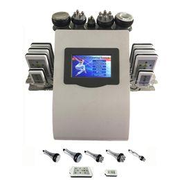 Wholesale Skin Tightening Cavitation Portable Machine - portable diode lipolaser lipo laser cellulite removal Ultrasonic RF radio frequency cavitation slimming machine
