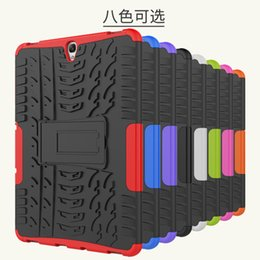 Wholesale Heavy Duty Leather - For Samsung GALAXY Tad S3 9.7 T820 Dazzle Hybrid KickStand Impact Rugged Heavy Duty TPU+PC Cover Case 20PC LOT