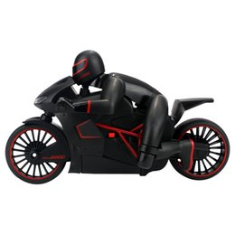 Wholesale Brushless Electric Rc Cars - Wholesale- Radio Control Motorcycles ZhenCheng 333 MT01B 1:12 4CH 2.4G RC Electric Motorcycle Toys Radio Control Car Toys