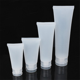 Wholesale Plastic Shampoo Tubes - Wholesale- Plastic Squeeze Tube Shampoo Refined Milk Container Cream Toothpaste Cheese Packing Soft Bottles Free Shipping
