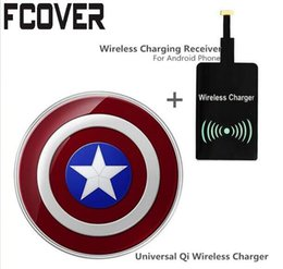 Canada Qi Chargeur sans fil Universal Pad Crystal Wireless Phone Chargeur Récepteur pour iPhone 7 Samsung S8 + Receiver Offre