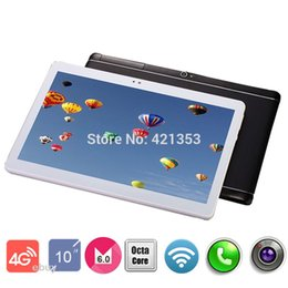 Wholesale Pc Ram Cards - Wholesale- 2017 tablet 10 inch 4G LTE FDD Tablet PC Octa Core 4G RAM 32GB ROM Dual SIM Card 8.0M Camera 1920*120 IPS Tablets 10 10.1 + Gift