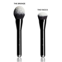 Wholesale Brushed Metal - Brand mkaeup brushes M J The Bronze Bronzer Brush face and body blending powder blush contour kit pinceis maquiagem.