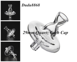 Wholesale ballet oil - New Quartz Carb Cap With Hole Like Ballet Dress for Quartz Bowl with Flat Bowl for Glass Water Bongs Glass Oil Rig