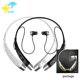 Wholesale Bluetooth Headset Smartphone - New HBS500 Fashion Sports Stereo Bluetooth Earphone Headset Wireless Running Earphone with MIC for iPhone Samsung Smartphone