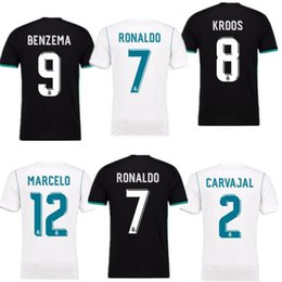 Wholesale Red Bells - The 2018 fan edition away jersey, the real Madrid football jersey 2017 CR7 football jersey, the ronaldo bell football shirt Asensio sergio