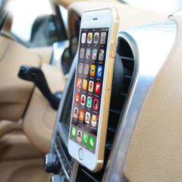 Argentina VODOOL Soporte de montaje magnético universal para coche, con ventilación por aire de 360 grados, para la navegación por GPS del teléfono móvil inteligente, soportes para teléfono celular supplier cell phone car navigation holder Suministro