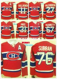 Wholesale Discounted Hockey Jerseys - Discount Cheap Women 11 Brendan Gallagher 31 Carey Price 67 Max Pacioretty 27 Alex Galchenyuk Embroidered Hockey Jersey White