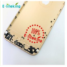 Wholesale Space Bar - Silver Space Grey Gold Good Quality Back housing Chassis Backcover Battery cover For APPLE IPhone 6 4.7 6Plus Replacement
