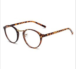 Wholesale Korean Male Models - South Korean version of the small round glasses frame glasses frame the star model of the non-mainstream small and fresh flat lens