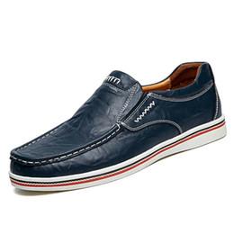 Британская мягкая повседневная обувь онлайн-2017 Новая Англия Doug обувь британские мужчины квартиры Повседневная обувь скольжения на мокасины мягкая натуральная кожа мокасины ручной вождения обувь