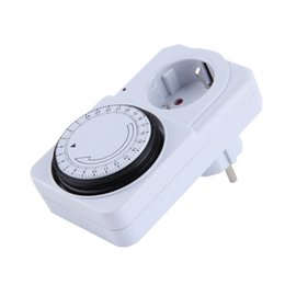 Wholesale 24 Hours Timer Switch - TS-814 EU Plug TS-816 AU 24 Hour Programmable Mechanical Electrical Plug Program Timer Mechanical programmable timer Power Switch Energy S