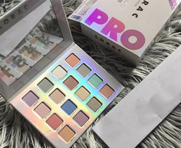 Wholesale I Pro - 2017 latest LORAC Eyeshadow makeup palette LORAC I Love Brunch PRO Eyeshadow cosmetics palette for girls 16 colors free shopping
