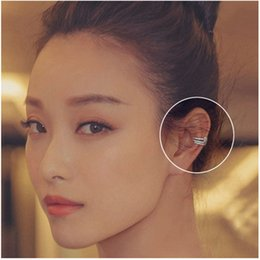 Wholesale Screw Backs - 2017 luxury women's Earrings Ear clips Diamond Clip-on & Screw Back