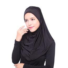 Les nouvelles femmes musulmanes de mode musulmanes Super Stretch lait en soie Hijab écharpe châle 1 / pc wordwide shipping ? partir de fabricateur