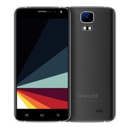 "Wholesale Dual Sim S3 - Original Vkworld S3 3G Smartphone 5.5"" HD 1280*720 MTK6580A Quad Core 1.3Ghz 1G RAM 8G ROM Android 7.0 13MP 2800mah Mobile Phone"