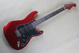 Wholesale Electric Guitar Wine Red - Factory Custom Shop 2017 new Top Quality st Matte Wine Red Electric Guitar with HSH pickup-17-11