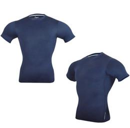 Verão direto da fábrica nova masculina de mangas curtas terno de fitness  ocasional T-shirt esportes correndo lazer suor respirável 92222296107