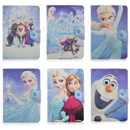 "Wholesale Tablet Pc Wholesale Uk - Universal Design Adjustable Frozen Snowing PU Leather Cases For Ipad Tablet PC 7"" 8"" 10 Inch Retro Vintage USA UK Flag Universal Skin Cover"