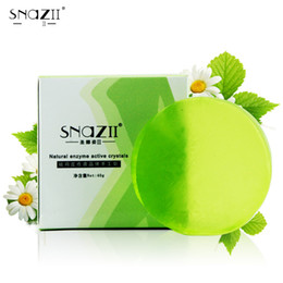 Wholesale Body Butters - New arrivals Snazii Handmade Soap Skin Care Natural Skin Enzyme active crystal Soap Shea butter Gift Packing