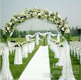 Wholesale organza wedding background decoration - 12 colors of the noble fashion ribbon reel yarn wedding decoration curtain coverings background volume 50M  accessories