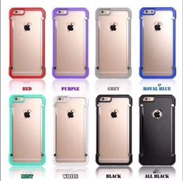 Wholesale Iphone 5s Transparent Color Cases - Newest style Sup Crystal Clear Transparent Case Protective Cover for iphone 6 6S Plus 5 5S SE case for i7 i7 plus mix color