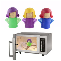Wholesale Microwave Oven Steam Cleaner Easily Cleans the Crud In Minutes Angry Mama Steam Cleans and Disinfects With Vinegar and Water for Home pc