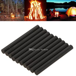 Wholesale Emergency Starter - 8mmx80mm Flint Fire Starter Rods High Quality Survival Magnesium Sparking Outdoor Sport Camping Hunting Emergency Survival Tool