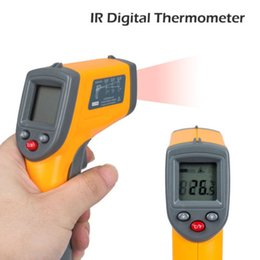 Wholesale Handheld Lasers - New Handheld Non-Contact IR Laser Infrared Digital Temperature Gun Thermometer