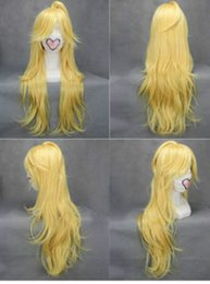 Wholesale Party Panty - Panty & Stocking with Garterbelt Long Blonde Cosplay Party Full Wig Hair FREE SHIPPING