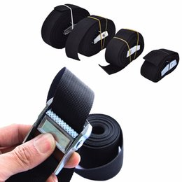 Wholesale Tie Downs Straps - Wholesale-New Nylon Pack Cam Tie Down Strap Lash Luggage Bag Belt Metal Buckle
