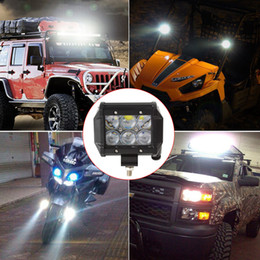 Wholesale Off Road Led Driving Light - 4 Inch Vehicle 30W 2550LM LED Work Spot Light Bar 4WD ATV Off-road SUV Driving Lamp CLT_400