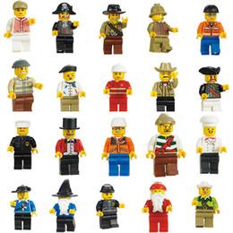 Wholesale models build - Minifigures With Different Model Figures Building Blocks Educational Toy For Kids DIY Bricks Toys Action Figures
