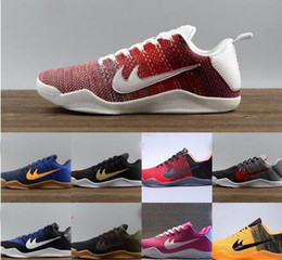 Wholesale Cheap Shoes Low Prices - Wholesale Kobe 11 Basketball Shoes Men New Kobe 11 Low Sneakers Good Quality Original Discount Sports Shoes Free Drop Shipping cheap price