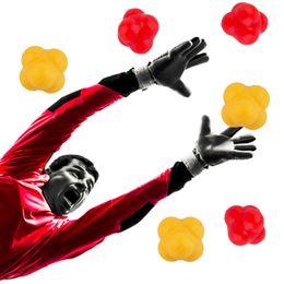 Bolas de silicone por atacado on-line-Atacado-Silicone Reaction Ball Coordenação Agilidade Exercício Reflexo Bola De Treinamento