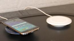 2019 qi standard wireless ladegerät aufladung Universelles kabelloses Ladegerät für Samsung Galaxy S6 QI-Standard für alle Qi-fähigen Geräte mit Retail-Box rabatt qi standard wireless ladegerät aufladung