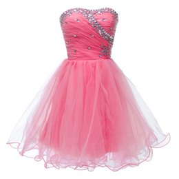Wholesale Teen Sweet Sexy - Free Shipping!Short Desginer Cocktail Dresses 2016 Vestidos Blancos Cortos Sweet 16 Homecoming Party Dresses for Teens