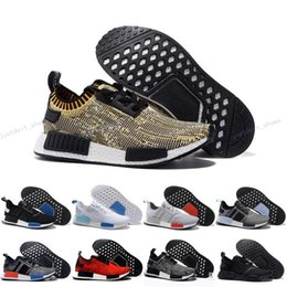 Wholesale Cheap Branded Snow Boots - 2017 Cheap Online Wholesale NMD R1 Primeknit PK Top Quality Shoes NMD Mens Womens Athletic Running Sneaker Shoes Running Brand NMD Boost