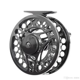 Wholesale Fishing Aluminum Spools - New FGK95 95cm Pesca Fishing Reels All Metal Spool 2+1bb Bearings Aluminum Alloy Smooth Fly Fishing Wheel for Fish Accessories