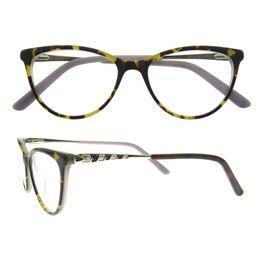 Wholesale Relief Glass - Newest Design Women's Fashion Eyewear Vintage Optical Glasses Frame Ultra-fine glasses frame with Exquisite relief design glass frames