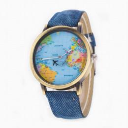 Wholesale Vintage Map Watch - Newly Design Mini World Map Watch Women Men Vintage Casual Quartz Wristwatch Gift for Ladies Gentlemen