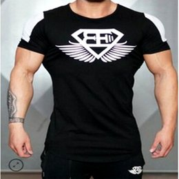 Wholesale Long Body T Shirts Men - Wholesale- Summer In 2016 Engineers Stringer T-shirt Man body Engineers Bodybuilding And Fitness Sportswear men T-shirt