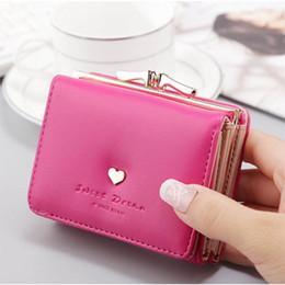 Wholesale Clutch Frame Purse - Womens Wallet Metal Frame Little Clutch Wallets Card Holder Wallet Coin Purse for Women