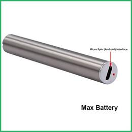 Wholesale Custom E Cigarette Batteries - Custom logo Vape Pen Amigo Max Battery VV Batteries E Cigarettes Fit 510 Cartridges CE3 Glass Tank CO2 Oil Vaporizer