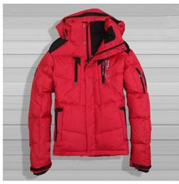 Wholesale Korean Fur Hooded Jacket - Men 's down jacket winter thickening warm coat Korean fashion 2016 fashion hooded fur collar down jacket