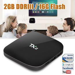 Wholesale S6 Pro - Quad Core TX2 RK3229 TV Box Android 6.0 2GB 16GB Krypton Fully Loaed BT 4K Media Player IPTV Box PK S6 Pro MXQ V88 PLUS