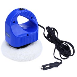 Wholesale Buffing Machines - 12V Wear Resistant Car Auto Polishing Buffing Waxing Machine Glazing Pad Kit Polisher Cleaning Tools 184263301